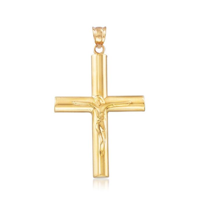 Cross Pendant in 22kt Yellow Gold, , default