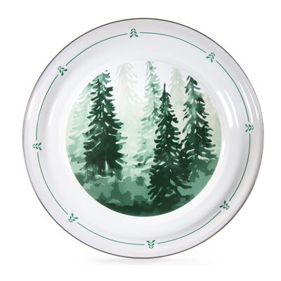 "Golden Rabbit ""Forest Tree"" Large Tray, , default"