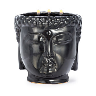 "Thompson Ferrier ""Aftershave"" Black Buddha Candle, , default"