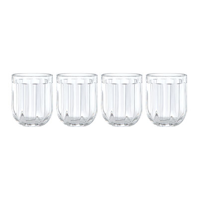 "Kate Spade New York ""Park Circle"" Set of 4 Double Old-Fashioned Glasses"