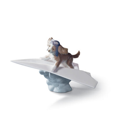 "Lladro ""Let's Fly Away"" Porcelain Figurine, , default"