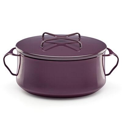 """Dansk """"Kobenstyle"""" Plum Casserole Pot with Lid"""