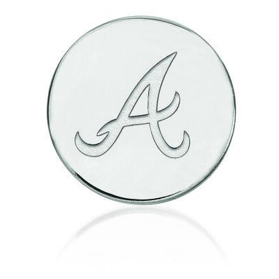 Sterling Silver MLB Atlanta Braves Lapel Pin
