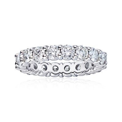 2.60 ct. t.w. Diamond Wedding Eternity Band in 14kt White Gold, , default