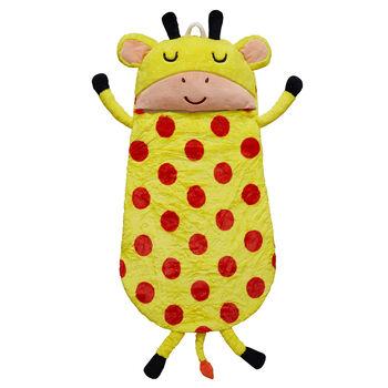 Child's Giraffe Plush Sleeping Bag , , default