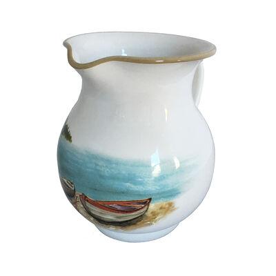 Abbiamo Tutto Italian a Day at the Lake Ceramic Pitcher, , default