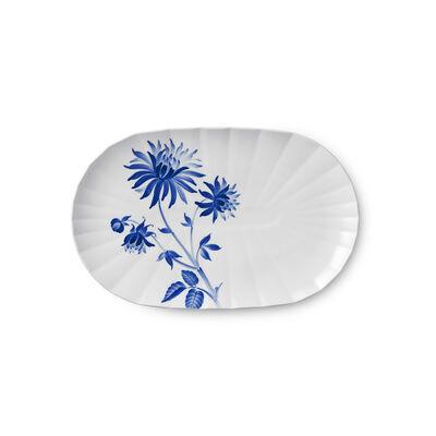 """Royal Copenhagen """"Blomst"""" Dahlia Porcelain Serving Dish, , default"""