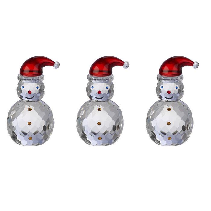 Judith Ripka Jolly Santa Crystal Snowman