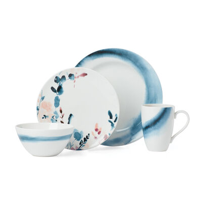 "Lenox ""Smoky Bloom"" 4-pc. Place Setting, , default"