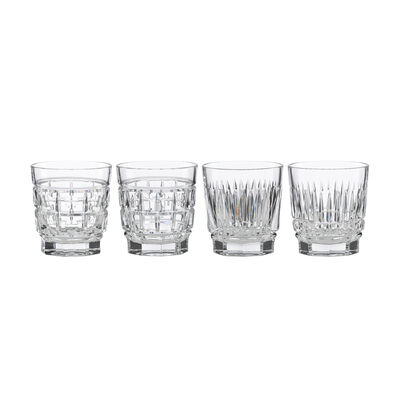 "Reed & Barton ""New Vintage"" Set of 4 Whiskey Glasses, , default"