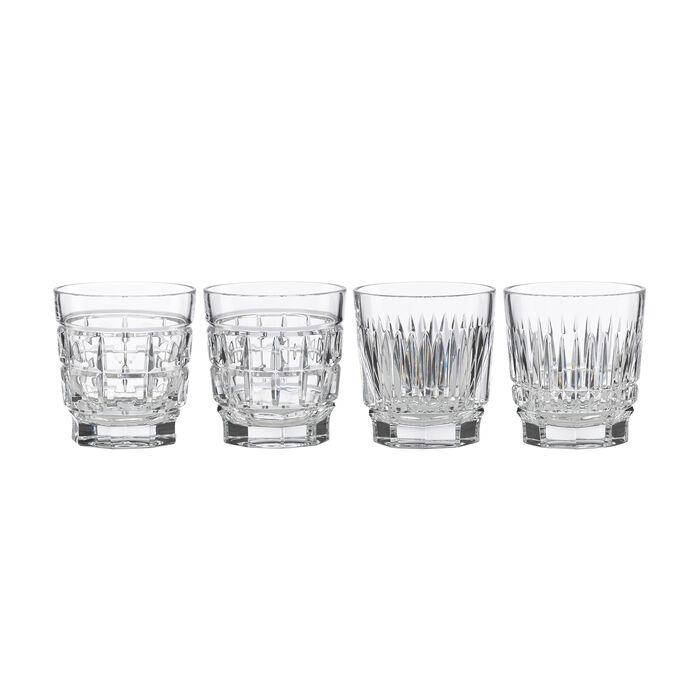 "Reed & Barton ""New Vintage"" Set of 4 Whiskey Glasses"