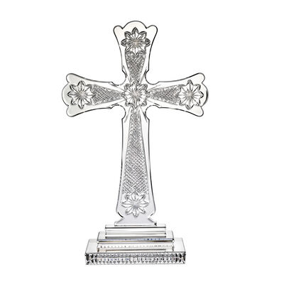 "Waterford Crystal ""Master Craft"" Annual Irish Standing Cross, , default"