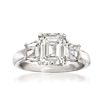 Majestic Collection 2.91 ct. t.w. Diamond Ring in Platinum, , default