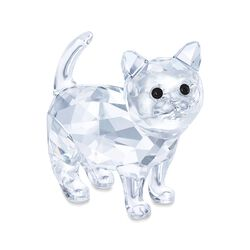 "Swarovski Crystal ""Baby Cat"" Figurine, , default"