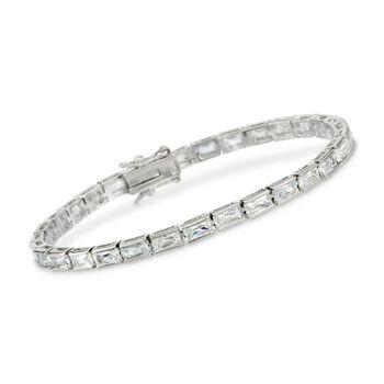 7.00 ct. t.w. CZ Bracelet in Sterling Silver, , default