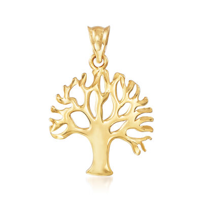 Tree of Life Pendant in 22kt Yellow Gold, , default