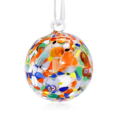 Italian Murano Glass Christmas Ornament, , default
