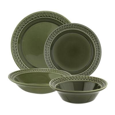 """Portmeirion """"Botanic Garden Harmony"""" Forest Green Dinnerware"""