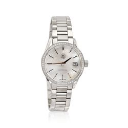 TAG Heuer Carrera Women's 32mm .62 ct. t.w. Diamond Watch in Stainless Steel , , default