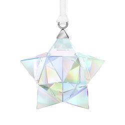 Swarovski Crystal Aurora Borealis Crystal Small Star Ornament, , default