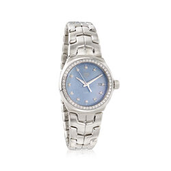 TAG Heuer Link Lady Women's 32mm .72 ct. t.w. Diamond Watch in Stainless Steel, , default