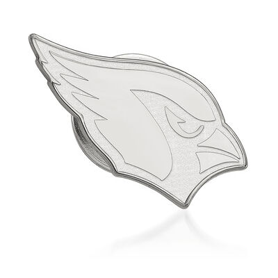 Sterling Silver NFL Arizona Cardinals Lapel Pin, , default