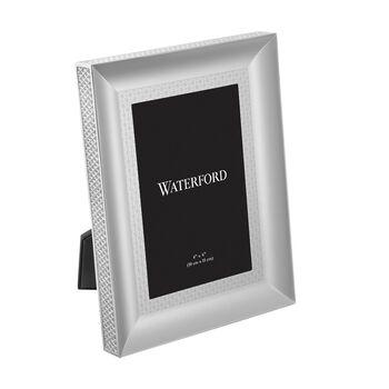 "Waterford ""Lismore Diamond"" Silvertone Frame, , default"