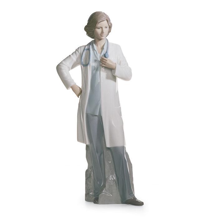 """Lladro """"Female Doctor"""" Porcelain Figurine, , default"""