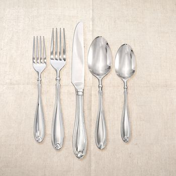 "Studio Silversmiths ""Pearl Essence"" 18/0 Stainless Steel Flatware, , default"