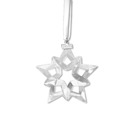 Swarovski Crystal 2019 Annual Star Ornament , , default