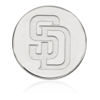 Sterling Silver MLB San Diego Padres Lapel Pin