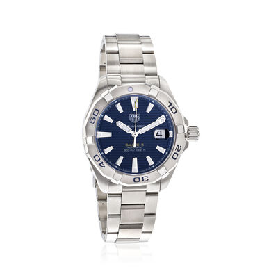 TAG Heuer Aquaracer Men's 41mm Automatic Stainless Steel Watch - Blue Dial