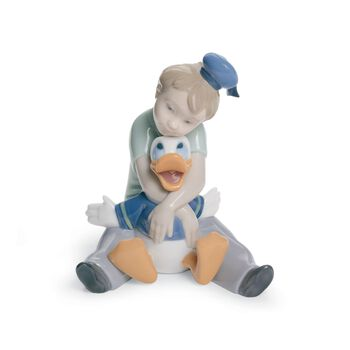 "Nao ""Daydreaming With Donald"" Porcelain Figurine, , default"
