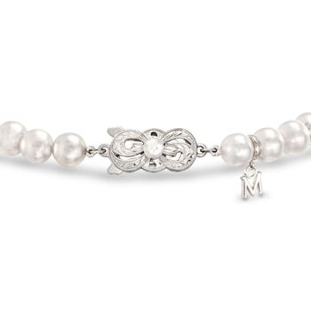 "Mikimoto 4-7mm A1 Akoya Pearl Jewelry Set: Earrings, Bracelet, and Necklace With 18kt White Gold. 18"", , default"