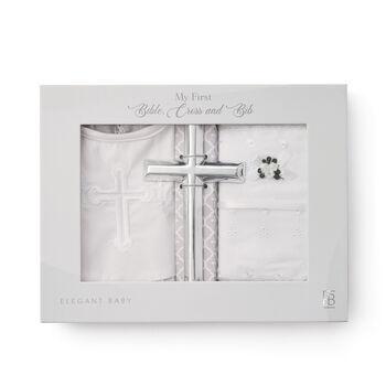 Elegant Baby Girl's 3-pc. Christening Gift Set, , default