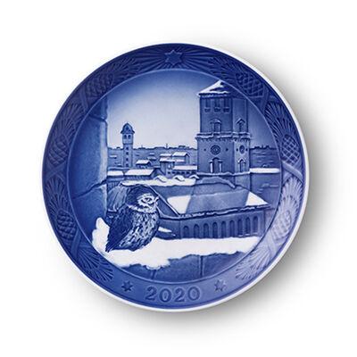 Royal Copenhagen 2020 Annual Porcelain Christmas Plate - 113th Edition