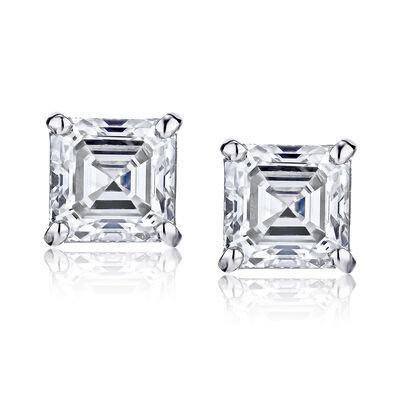 .48 ct. t.w. Diamond Stud Earrings in 14kt White Gold, , default
