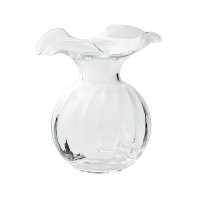 "Vietri ""Hibiscus"" Small Fluted Glass Vase from Italy, , default"