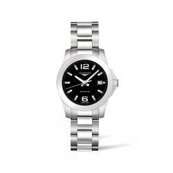 Longines Conquest Women's 34mm Stainless Steel Watch, , default