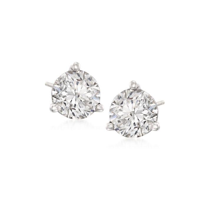 2.00 ct. t.w. Diamond Martini Stud Earrings in Platinum