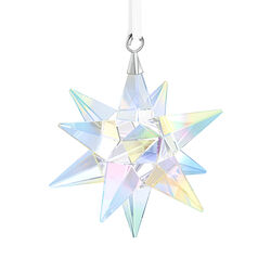 Swarovski Crystal Aurora Borealis Crystal Star Ornament, , default