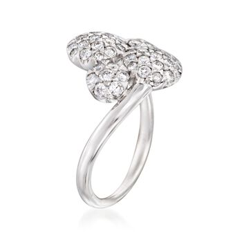 "Kwiat ""Moonrise"" .85 ct. t.w. Diamond Ring in 18kt White Gold, , default"