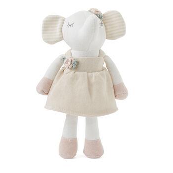 Elegant Baby Penelope Elephant Knit Toy and Book Set, , default