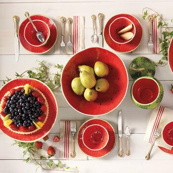 Bordallo Pinheiro Watermelon - Set of Four Small Plates, , default