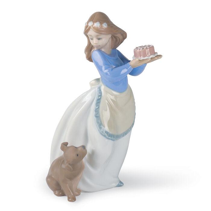"Nao ""Puppy's Birthday"" Porcelain Figurine , , default"