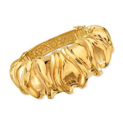 Italian 18kt Yellow Gold Bracelet, , default