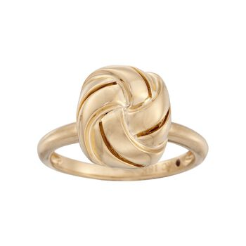 Roberto Coin 18kt Yellow Gold Love Knot Ring. Size 6.5, , default