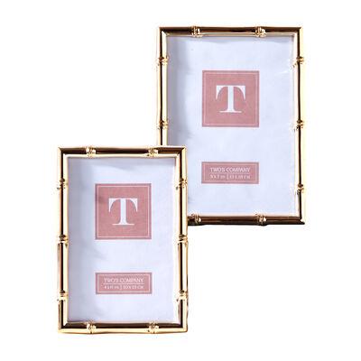 Set of Two Rose Gold Photo Frames , , default
