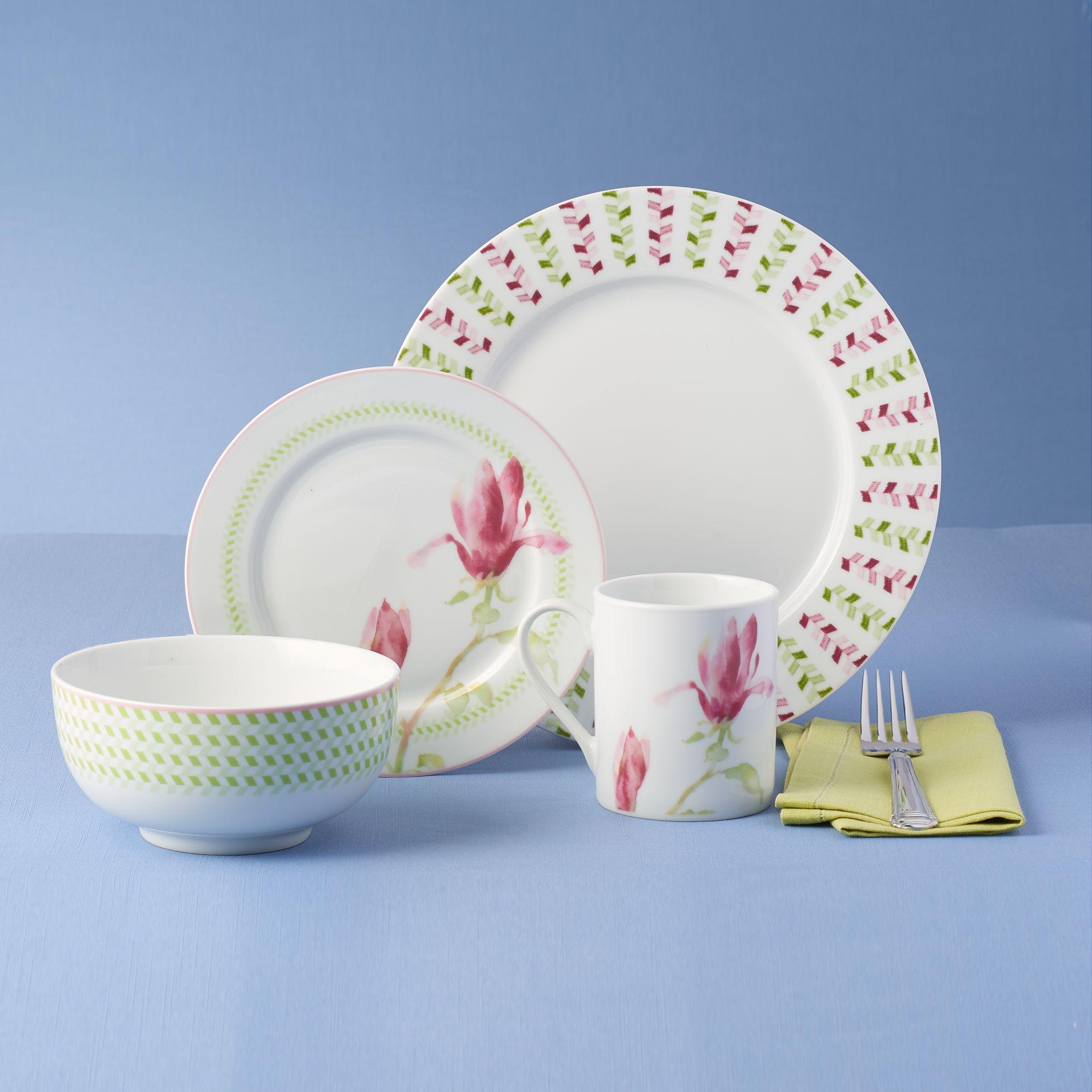 Spode \u0026quot;Magnolia Haze\u0026quot; Porcelain Dinnerware  default & Spode \