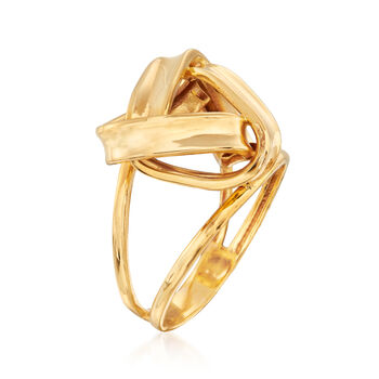 22kt Yellow Gold Knot Ring